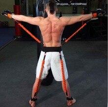 160lbs Taekwondo Crossfit bandes de résistance au saut boxe jambe bras puissance physique Force Explosive Force agilité ceinture dentraînement