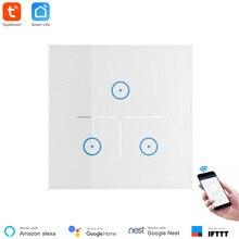 Domotica WiFi interrupteur mural vie intelligente App télécommande norme ue Type 86 travailler avec Alexa Echo et Google Home Mini maison intelligente