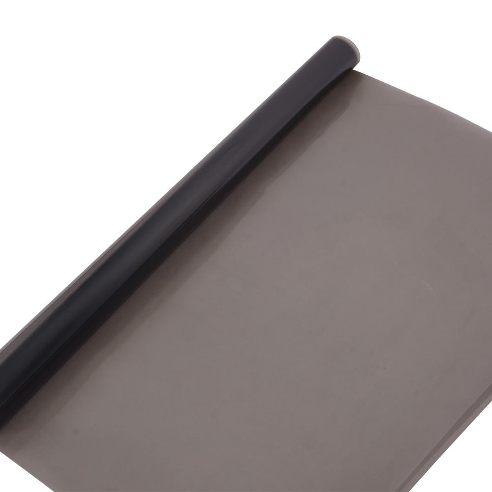 50% VLT 99% IR 99% UV parasol de coche Nano cerámica película opaca para ventana 2PLY coche lado tinte de Ventanilla de Casa de protección Solar de vinilo