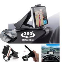 Universel HUD voiture tableau de bord support de montage support Smartphone anti-dérapant support pour voiture pour téléphone portable GPS
