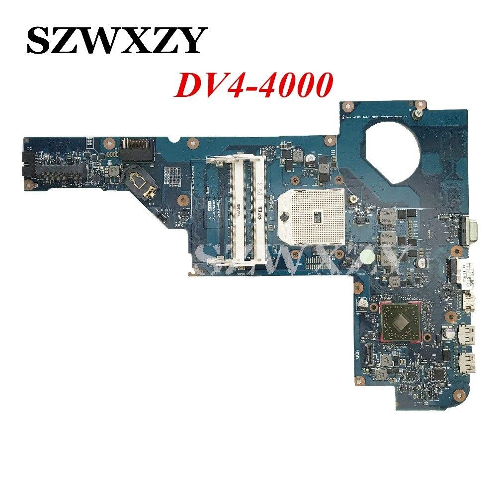 653427-001 Para HP DV4 DV4-4000 DDR3 Originais Laptop Motherboard Completo Testado