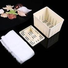 Molde de Tofu para hacer cuajada de soja de plástico DIY, caja de herramientas de cocina caseras