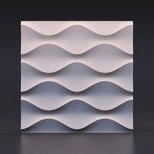 Corrugated pattern Cement Encaustic Tiles silicone molds Concrete tiles mold Cement wall brick mold 28*2cm