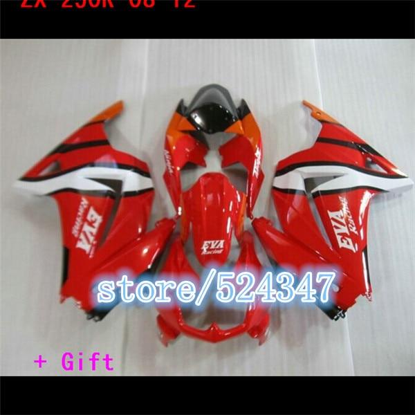 Kit de inyección de carenado para motocicleta Kawasaki Conjunto de inyección de...