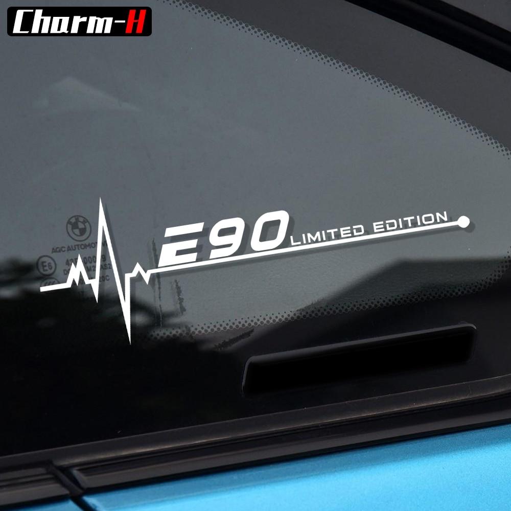 Autocollant de fenêtre réfléchissant   Pour BMW E28 E30 E34 E36 E39 E46 E60 E61 E62 E70 E87 E53 E90 E91 E92 E93, accessoires
