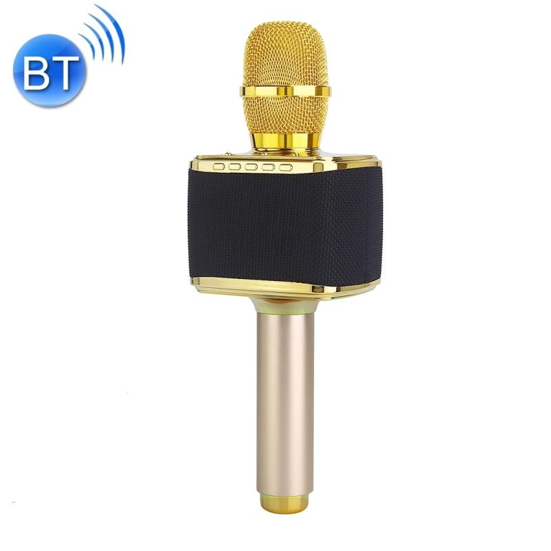 HAWEEL Handheld KTV Karaoke Recording Bluetooth Wireless Condenser Microphone High Sound Quality Double Speakers