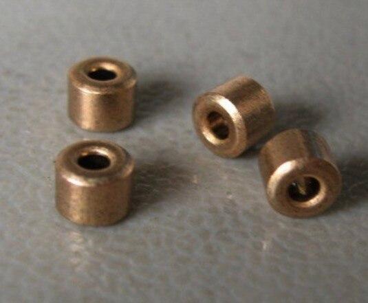 20 sztuk/partia średnica wewnętrzna 2mm średnica zewnętrzna 5mm długość 4mm. Miedziany rękaw oleju łożyska