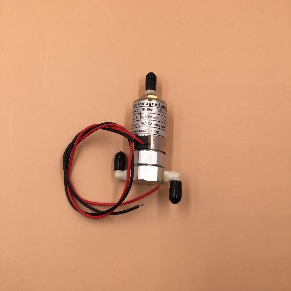 24V 8W Solvent ink solenoid valve for large format CRYSTALJET inkjet printer 24V high quality leadshine dc servo motor 57hs22 a corresponding drive dm442 for large format inkjet printer