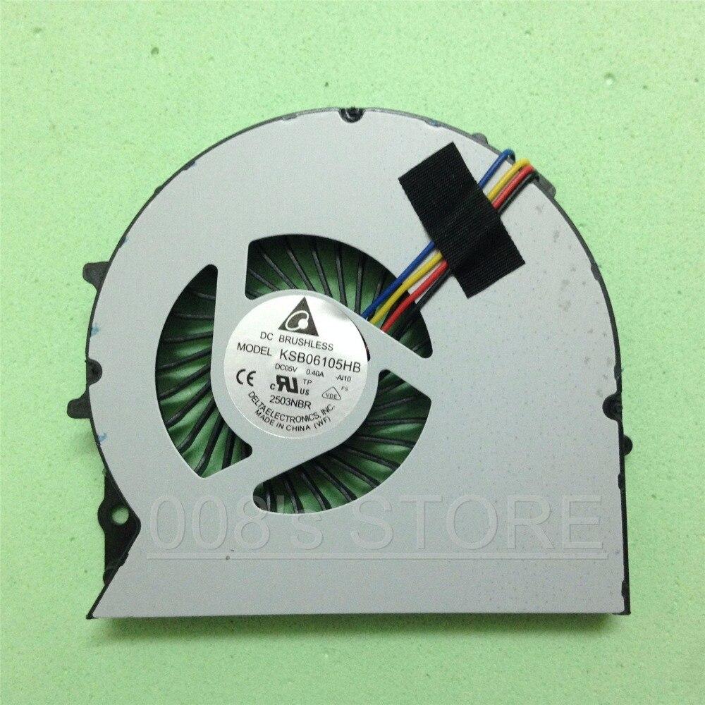 Новый охлаждающий вентилятор для процессора HP ProBook 450 G0 G1 450G0 450G1 455 G1 455G1 721938-001 KSB06105HA DC05V 0.40A 23.10754.001