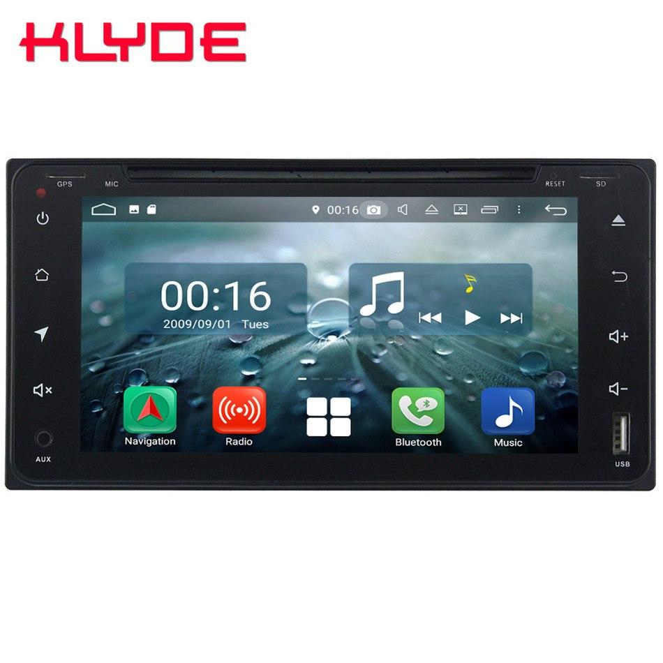 Octa Core 4G Android 8,1 4GB de RAM 64GB ROM RDS coche DVD reproductor Multimedia estéreo para Toyota Camry RAV4 Prado Kluger Allion en Celica