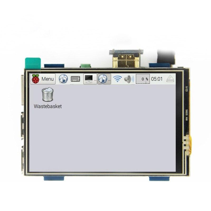 3,5 дюймовый ЖК-дисплей HDMI USB сенсорный экран реальный HD 1920x1080 ЖК-дисплей для Raspberri 3 Модель B/Orange Pi (воспроизведение видео игры) MPI3508