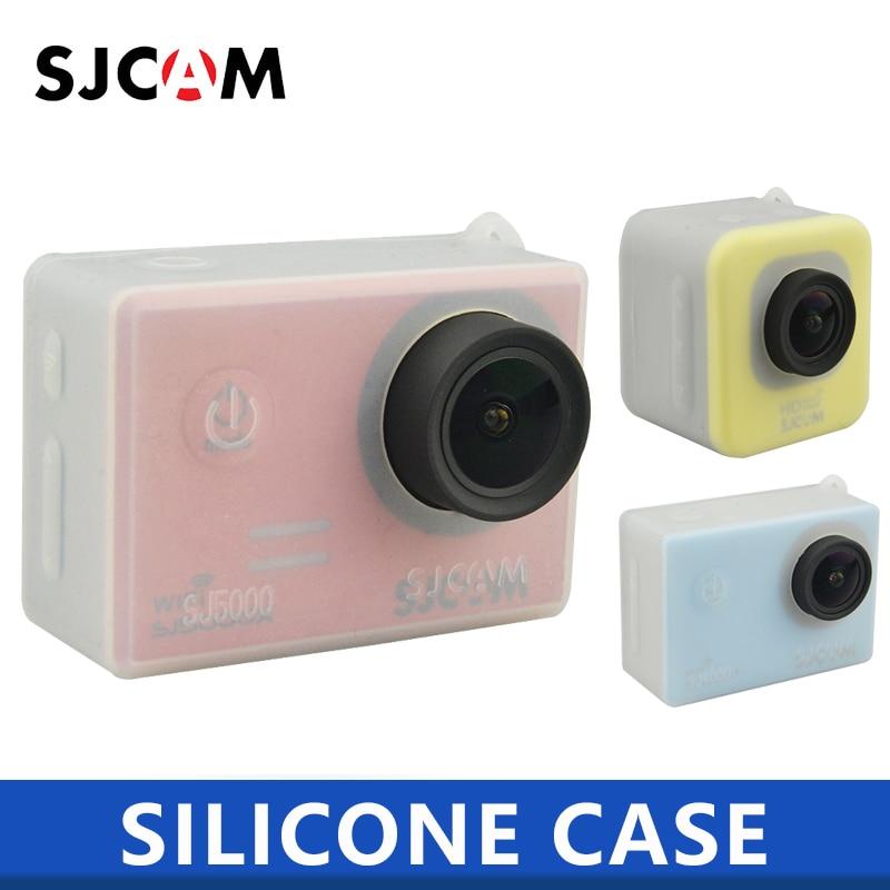 מקורי SJCAM אביזרי סיליקון מגן מקרה עבור SJ4000/M10/SJ5000 סדרת ספורט פעולה מצלמה