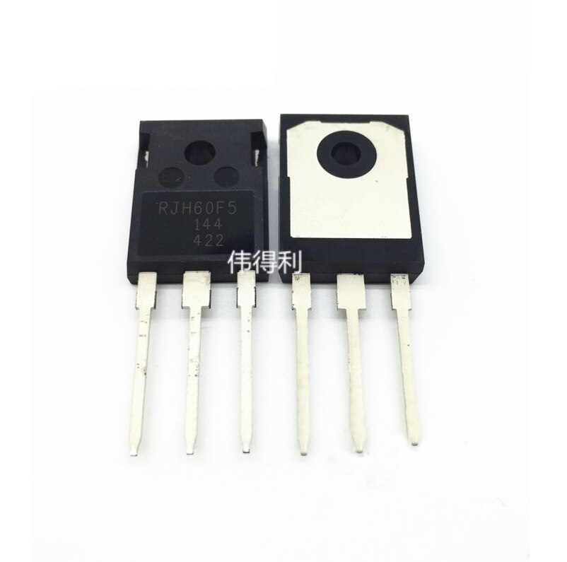 1PCS  RJH60F5DPQ RJH60F5 N Channel IGBT High Speed  Switching TO-247 80A600V 100% new original