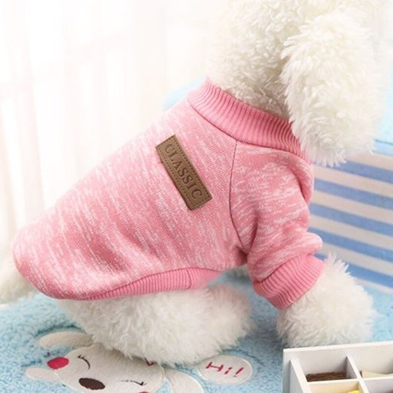 New Patterns Pet Product Winter Warm Dog Clothes Pet Cat Jacket Coat Fashion Soft Sweater Clothing #245373