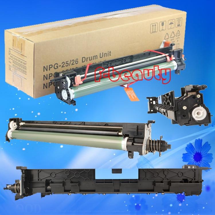 Alta qualidade da unidade do tambor copiadora compatível para canon npg25 npg26 ir2230 2270 2830 2870 3030 3035 3045 IR4570 GPR15 GPR16 CEXV11 12