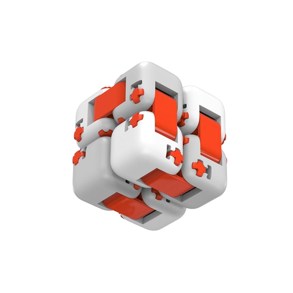 Mini Cubic Spinner ręczny cegły inteligencja zabawki inteligentne zabawki na palec przenośny łatwy do gry mały prezent dla dziecka