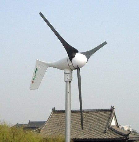 Off grid wind mühle 400 Watt, korrosionsschutz 12 V/24 V auto. unterscheiden, bauen in mppt-controller, 3 jahr garantie!!