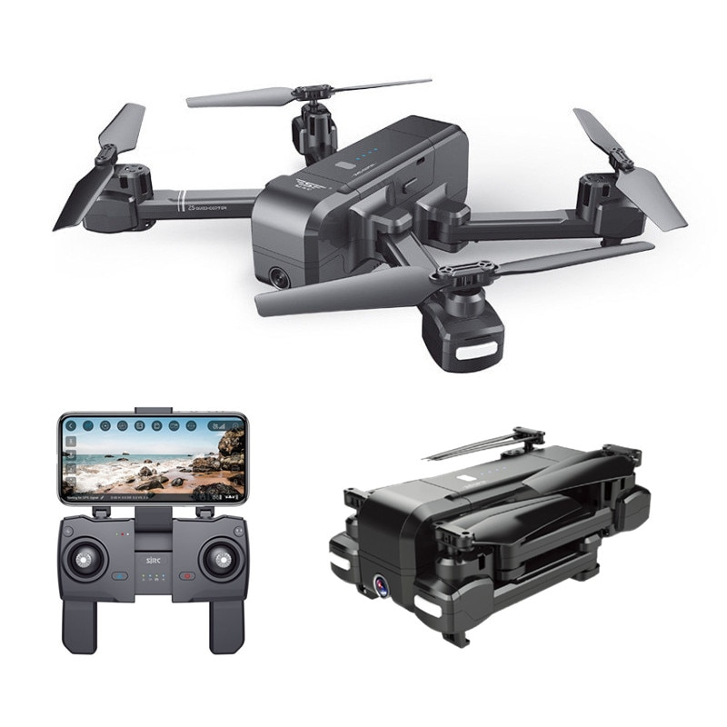 RC Quadcopter Optical Flow Pressure Altitude Hold WiFi Wide-angle Electric Adjustment 1080P/4K Camera FPV LED Lights Drone toy enlarge