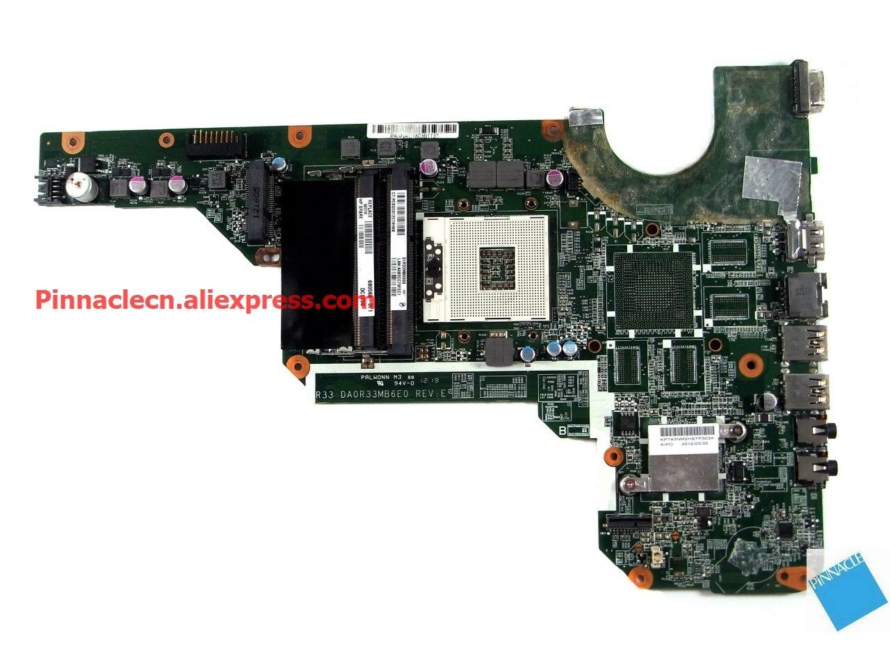680568-001 placa-mãe para hp pavilion g4 g6 G7-2000 r33 da0r33mb6e0