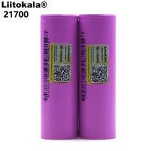 Liitokala 21700 li-lon battery 4000 mAh 3.7V 15A discharge rate power 5C ternary car lithium battery Electric battery DIY