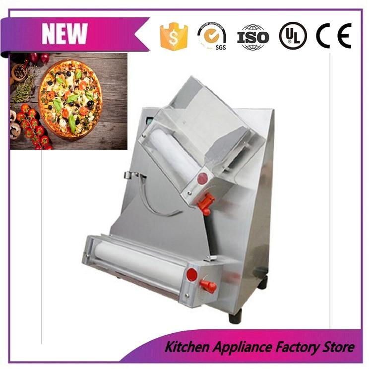 Prensa eléctrica de alta velocidad para masa de pizza, máquina de prensado de corteza de pizza, nuevo diseño