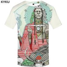 Забавные Мужские футболки в стиле Харадзюку, футболка с 3d принтом в американском стиле, повседневные цветные футболки с перьями, одежда в стиле аниме
