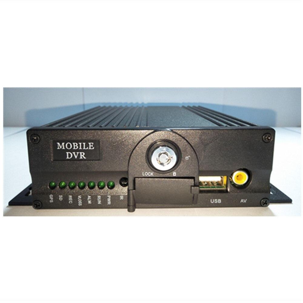 Enregistreur vidéo WiFi AHD4 Road double carte SD   design de puce industrielle, moniteur GPS 3G à bord, hôte marketing direct MDVR