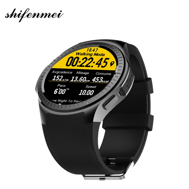 Band Watches 2018 L1 Professional Sports Smart Watch Quad Core Smartwatch MTK2503 2G Wifi BT Call 0.2MP TF Card For Android IOS