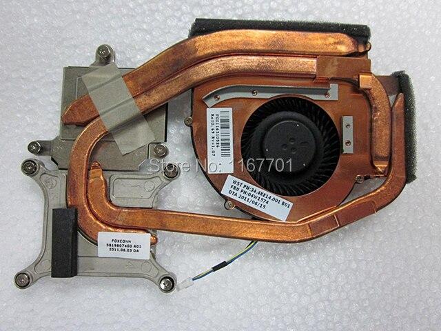 Original novo Laptop/Notebook Independente Radiador de Refrigeração da CPU Heatsink/Fan para Lenovo Thinkpad W520 04W1574 04W1576