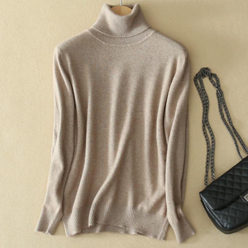 Однотонный кашемировый мужской свитер с высоким воротником мужской вязаный свитер мужской женский свободный пуловер 2020 зимний теплый свит...