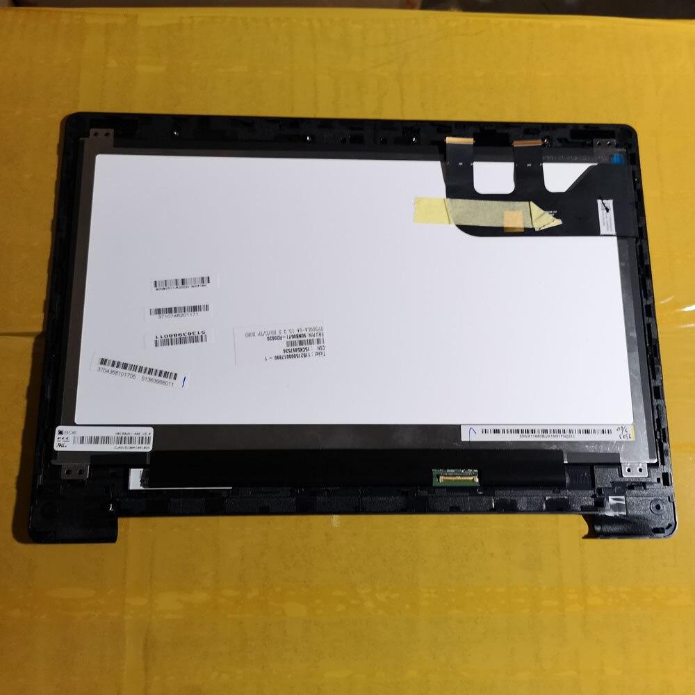 13.3 polegada 1366*768 HB133WX1-402 V3.0 Visor Do Painel de LCD & Touch Screen Assembly Com frame Para Asus TP300 TP300L TP300LA TP300LD