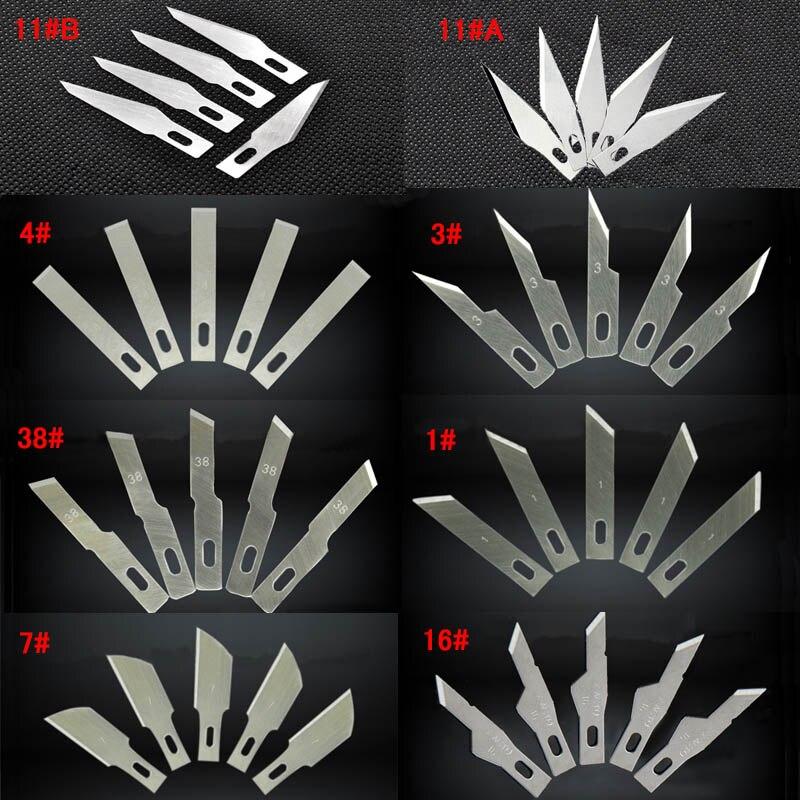 Cuchillo de hoja fija, herramientas de tallado de madera para tallar madera, juego de mini cuchillas de cuchillo para tallar madera, pegatinas de reparación de PCB, artesanías