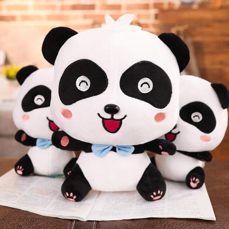 Pareja creativa muñeca Panda gigante lindos ojos grandes Panda juguete de felpa niños niñas muñeca de dibujos animados Panda de peluche de juguete regalo