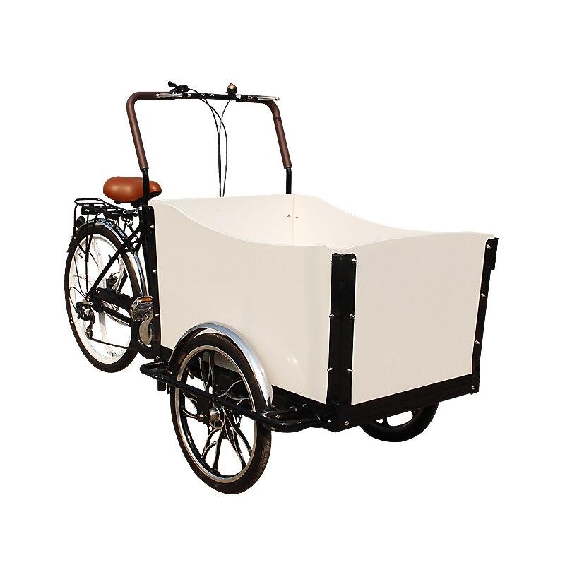 Bicicleta de compras de carga T05B, bicicleta eléctrica de carga familiar, bicicleta eléctrica