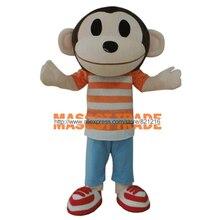 Scimmia Animale Adulto Personaggio Dei Cartoni Animati Mascotte Costume Per Bambini Festa di Compleanno