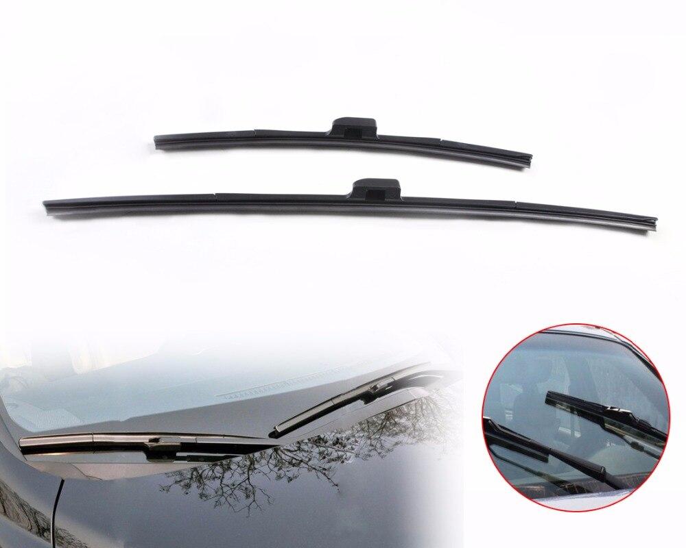 "CITALL 26 ""+ 17"" sin marco de acero de lluvia de goma de ventana limpiaparabrisas para Honda CRV 2007 ~ 2009, 2010, 2011, 2012 Teana 2008, 2009"