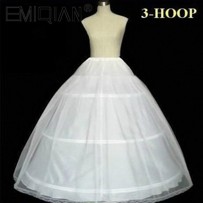 100% Satisfaction Quality Guaranteed 3 Hoops Bone Elastic Waist Full Crinoline Petticoats Underskirt