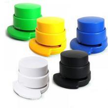 Offre spéciale Portable agrafeuse sans agrafe agrafeuse reliure à papier pour la maison fourniture de bureau couleur aléatoire