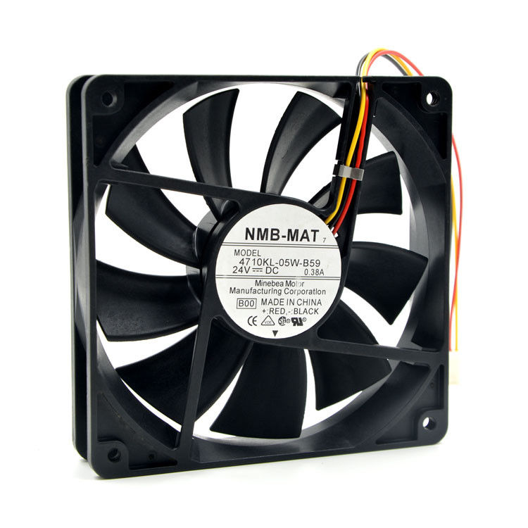 Enfriador de CPU para NMB 4710KL-05W-B59 12025, ventilador de enfriamiento de CPU, accesorios de computadora 12CM 24V 0.38A, ventilador inversor