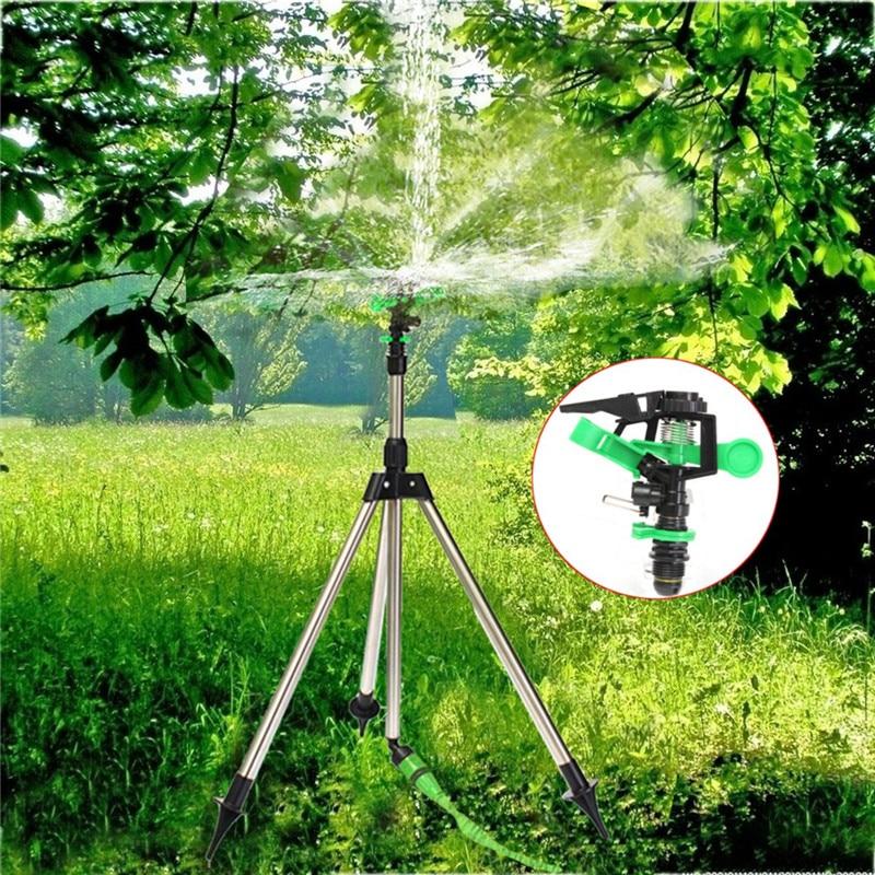 1 шт. штатив из нержавеющей стали, импульсный спринклер, пульсирующий Набор для полива травы и лужайки, садовый инструмент для полива