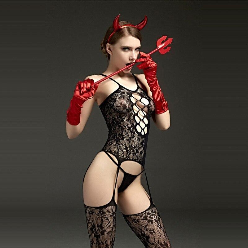 Низкая цена Цветочные кружевные прозрачные товары ажурные чулки сексуальное женское белье