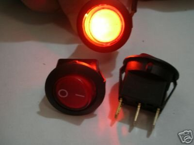Heavy Duty Para Casa/Jardim/Bar 120 V-250 V Interruptor de Parede R8C Fin 12
