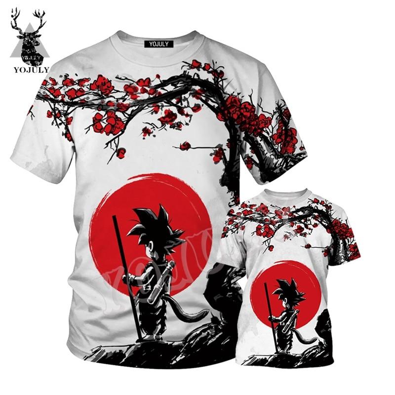 Dragon Ball Z Ultra Instinct God Son Goku Super Saiyan Men Tshirt 3D Printed child Summer O-Neck Casual T shirt Plus Size t100