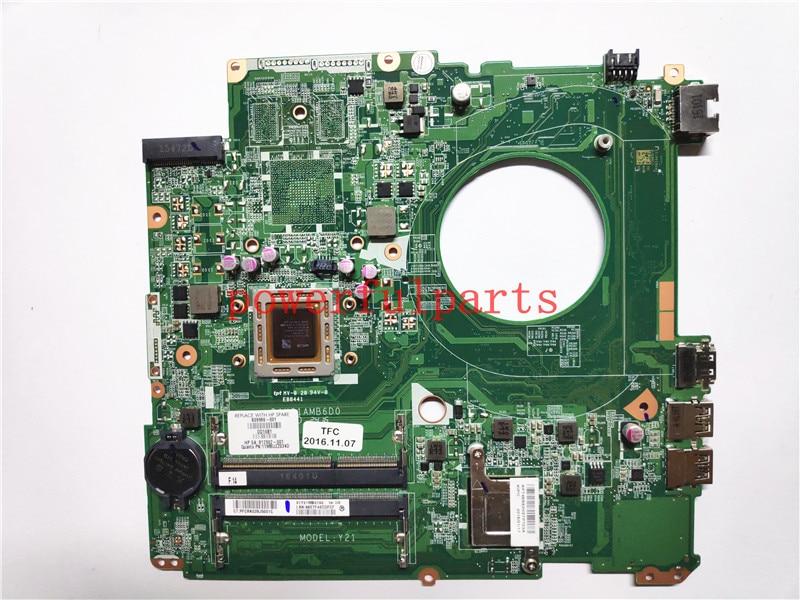 100% new portátil placa base 809986-601, 809986-501, 809986-001 para HP 17-P 17Z-P DAY21AMB6D0 A8-7050M 100% de trabajo