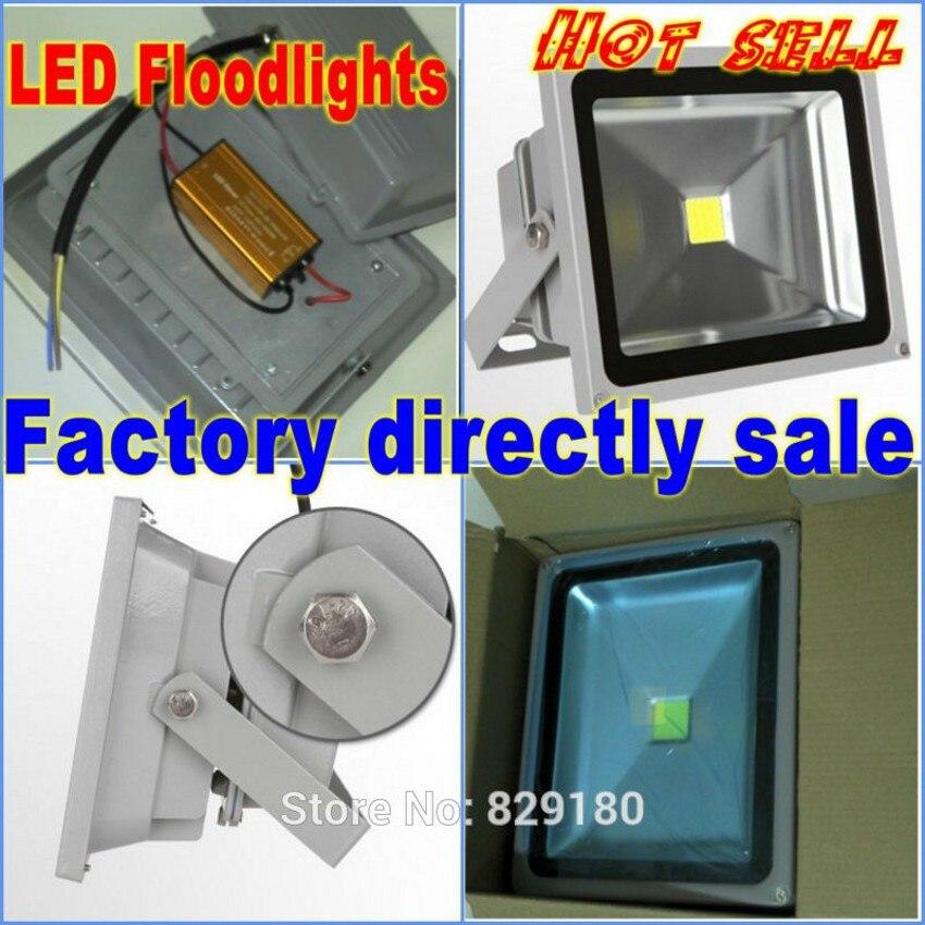 20x Wholesale outdoor flood lights 20w 30w 50w LED Flood light,12v led floodlights,24v led outdoor lighting,ip65 led luminaire