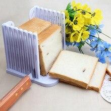 Trancheur de pain en plastique coupe-pain   Coupe-pain à découper même les tranches, outil de guidage, outils de cuisson, outil de cuisine, marqueur de moule