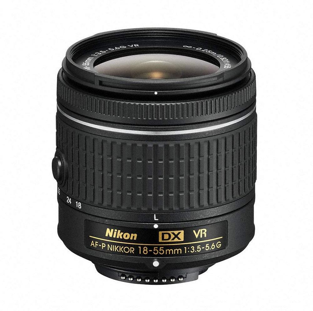 Используется Nikon AF-P DX NIKKOR 18-55 мм f/3,5-5,6G VR объектив для Nikon DSLR камер