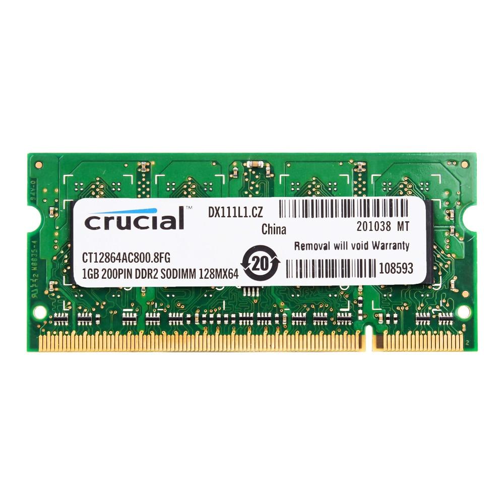 Оперативная память для ноутбука DDR2 800 МГц DDR2 1 Гб 2 Гб ОЗУ для ноутбука ddr2 2 ГБ = 2 шт. 1 ГБ PC2-6400SS 1,8 В