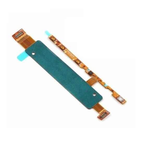 GZM-partes 20 unids/lote interruptor de encendido/apagado botón de volumen tecla Flex Cable Ribbon para Sony Xperia M4 Aqua E2303 E2353