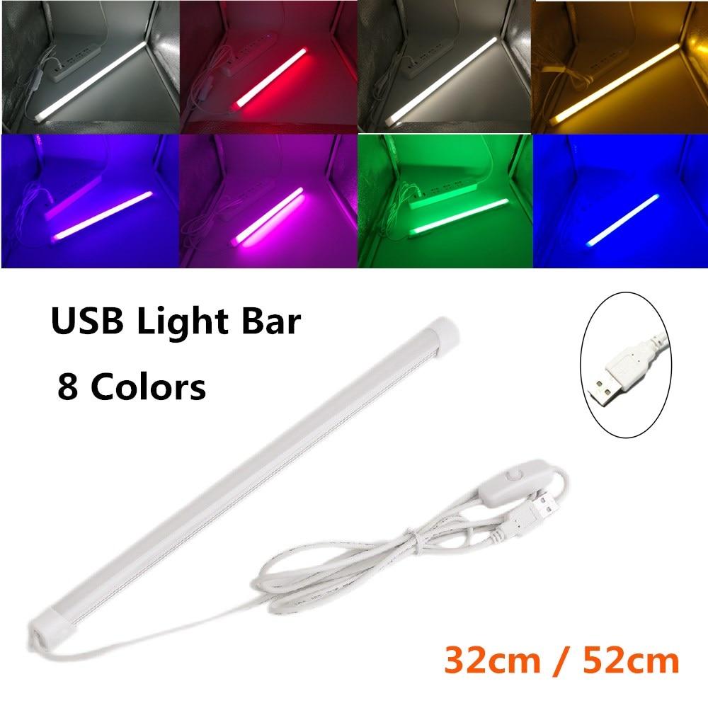 USB LED Light Bar 5V Rigid LED Strip for the Kitchen Dimmable Aluminum Light Bar for Under Cabinet L